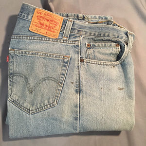 Levi 505 zipper front regular fit jeans #3